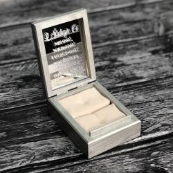 Pudełko drewniane na obrączki Silver