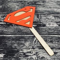 Drewniana tabliczka do fotobudki Superman