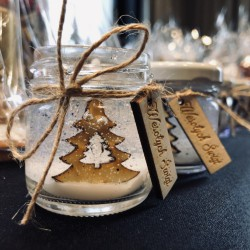 Mini świeczka świąteczna bożonarodzeniowa
