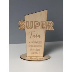 Statuetka na dzień taty Super Tata