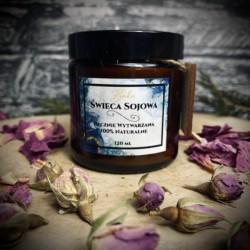Świeca do aromaterapii- Na pobudzenie 120 ml