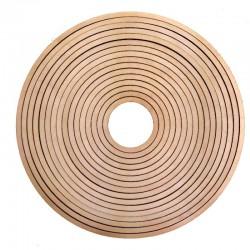 Obręcze drewniany łapacz snów 16 szt.
