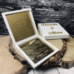 Zaproszenie na ślub dla Rodziców złote